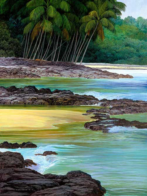 Painting by Curtis Wilson Cost: Coconut Grove